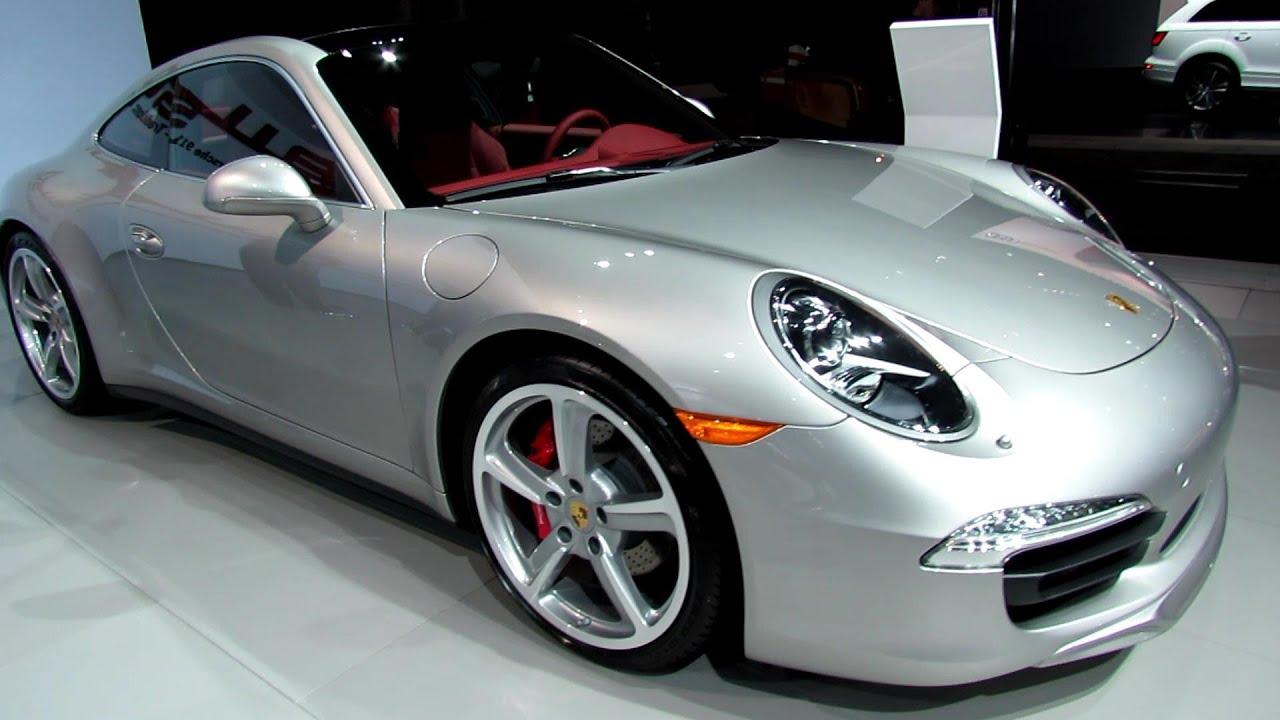 2013 porsche 911 carrera 4s exterior and interior walkaround 2013 new york auto show youtube