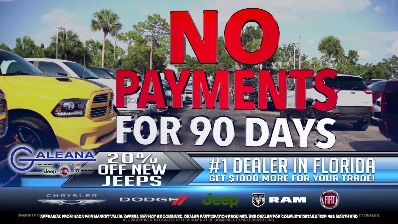Galeana Chrysler Dodge Jeep Ram Fiat Is Number 1 In Florida