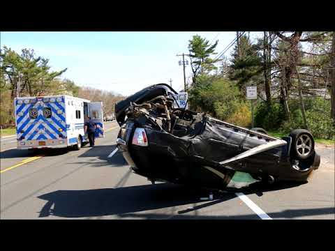 3 VEHICLE CRASH WITH OVERTURN IN MEDFORD NY
