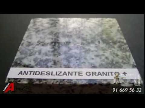 Tratamiento antideslizante para suelos youtube - Suelos de ducha antideslizantes ...