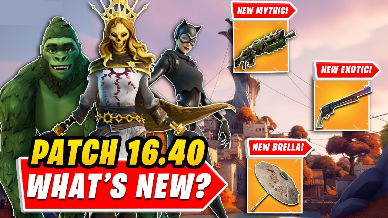 Update 1640 EVERYTHING You NEED TO KNOW In UNDER 5 MINUTES New Mythic New Exotic FEMALE ORO