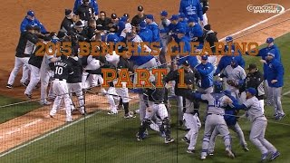 2015 MLB Bench Clearing Brawls Part 1