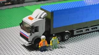 LEGO КамАЗ 54115 из сериала Дальнобойщики +Инструкция!