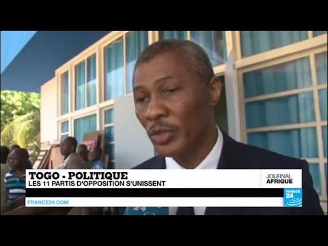 Togo - politique : les 11 partis d'opposition s'unissent