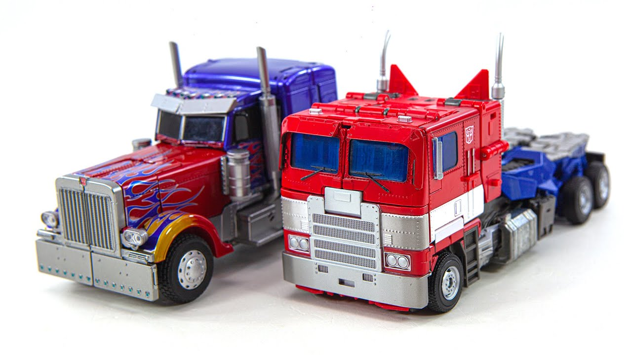 Transformers Movie Masterpiece MPM-4, MPM-12 Optimus Prime Truck Car Vehicle Robot Toys