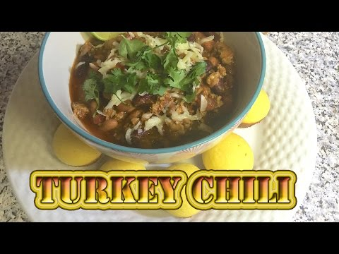 SPICY TURKEY CHILI