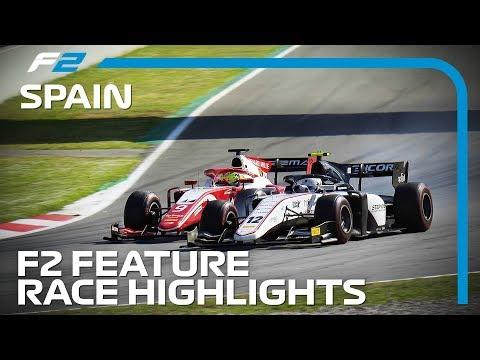 Formula 2 Feature Race Highlights  2019 Spanish Grand Prix