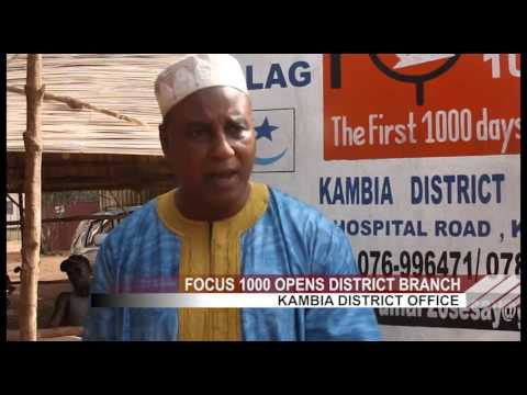 Opening of FOCUS 1000 Office Kambia District