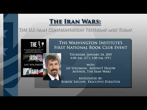National Book Club Webinar with Jay Solomon, author of Iran Wars