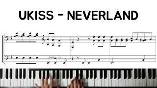 UKISS(유키스) - NEVERLAND(네버랜드) | Piano Cover