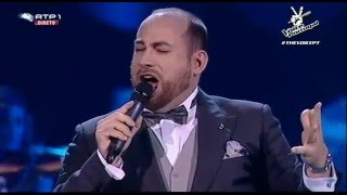 "Sérgio Sousa – ""Nessun dorma""   1ª Gala The Voice Portugal   Season 3"