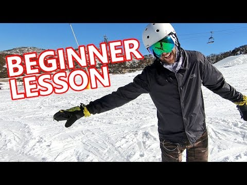 Beginner Snowboard Lesson – Heels, Toes & Straight