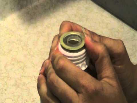 how to open reclens bottle