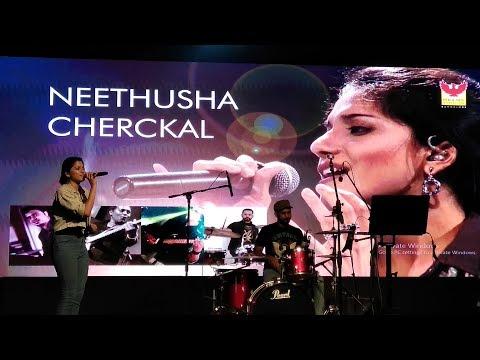 Neethusha cherckal  performance in Bangalore