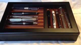 Bey Berk Wood Pen Display Box Case With Glass Top Review