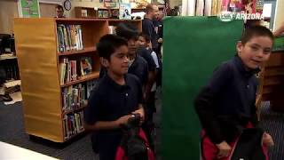 FOX Sports Arizona donates 300 backpacks to Blackwater Community School