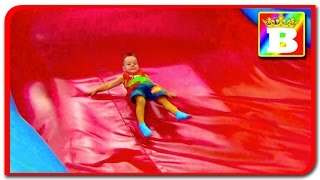 Bounce House Fail  Outdoor inflatable playground for kids  Funny video at Bogdan's Show