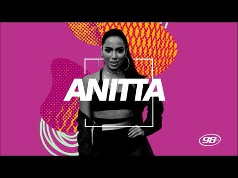 Anitta na 98FM Curitiba COMPLETO