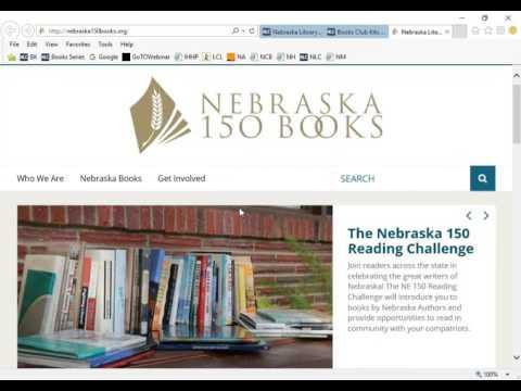 NCompass Live: Nebraska 150 Books: Read Nebraska Authors with your book group!
