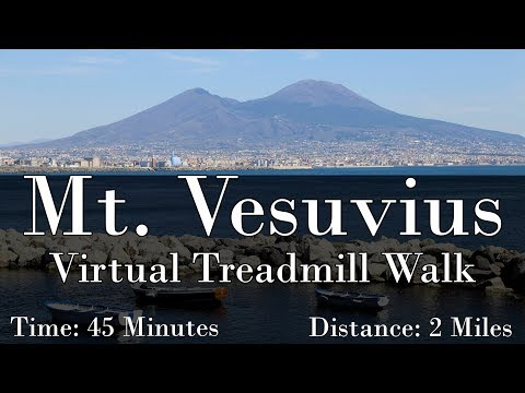 Mt. Vesuvius Virtual Treadmill Walk