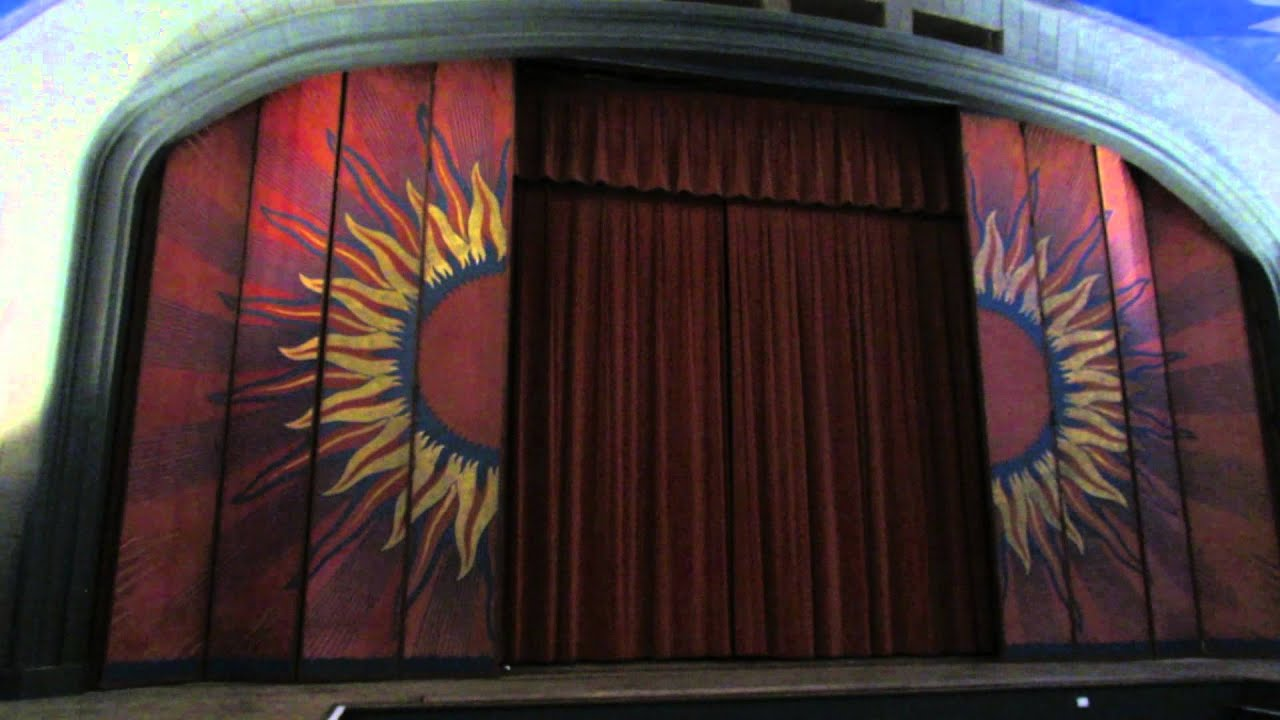 Art treasure looms above dennis theater youtube for Cape cinema mural