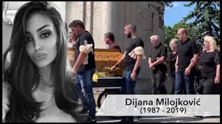 POTRESNI GOVOR Dušana Milojkovića na sahrani Dijane Milojković 25.07.2019.
