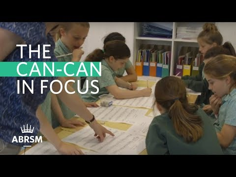 The Can Can in focus | ABRSM Woodwind Syllabus 2018-2021