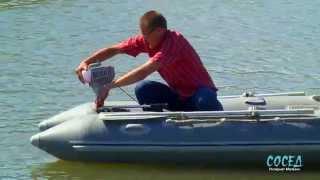 Пристрій з гвинтом або Як перетворити Вашу бензокосу в човновий мотор