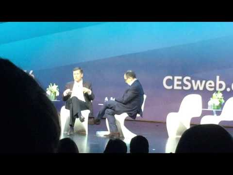 Michael Kassan chats with Steve Burke, CEO NBC Universal at CES 2016