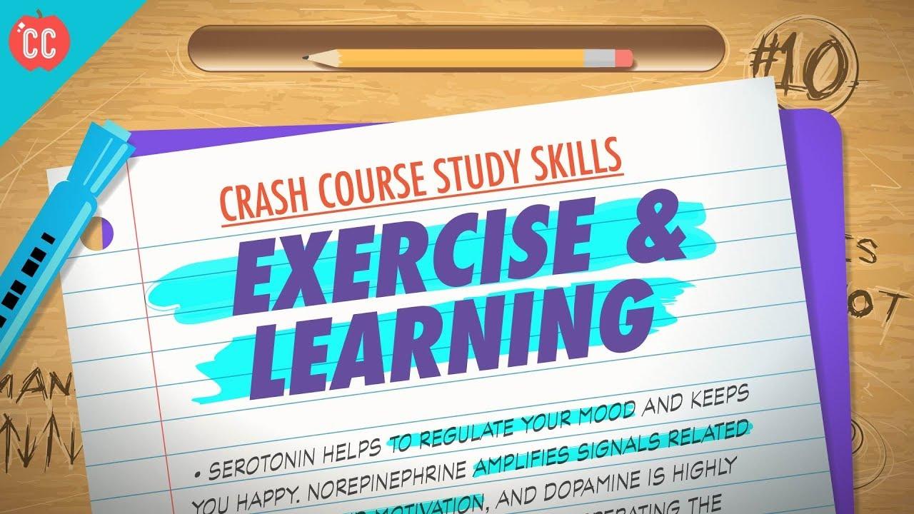 Exercise: Crash Course Study Skills #10 - YouTube