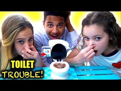 Toilet Trouble!  (Liv vs Sierra... & Justin??)