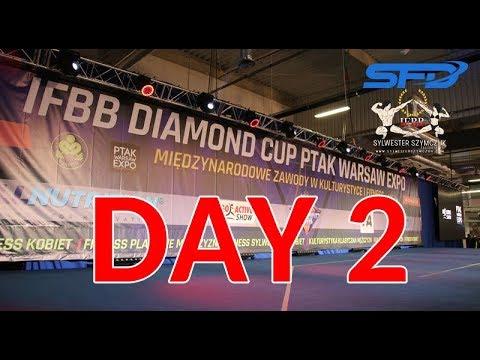 IFBB Diamond Cup Ptak Warsaw EXPO 2018 day 2