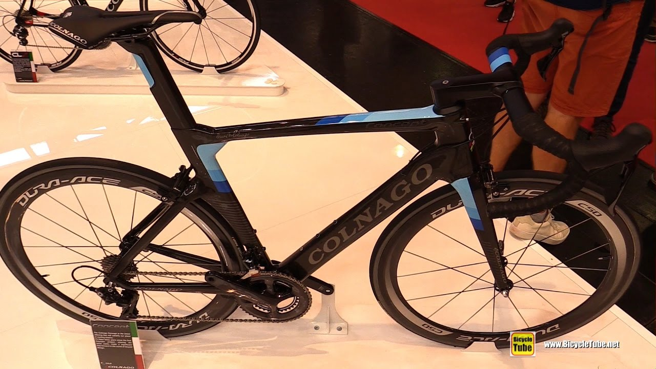 d052845914a 2017 Colnago Concept Road Bike - Walkaround - 2016 Eurobike - YouTube