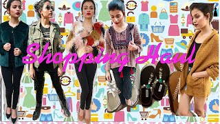 Winter Shopping Try On Haul | Winter Shopping Haul India | SheIn, Romwe, Zara, Forever 21, D&A