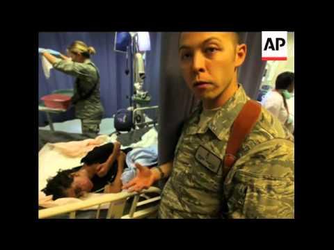 Inside a US-Afghan military hospital in Kandahar
