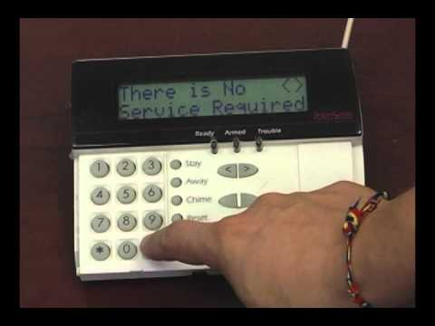 Alarm System Trouble Light Conditions #1- Low Battery