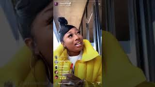 MAGAN THEE STALLION AKA TINA SNOW GOES OFF ON 1501 CERTIFIED ENT. LABEL WONT LET HER DROP NEW SONG