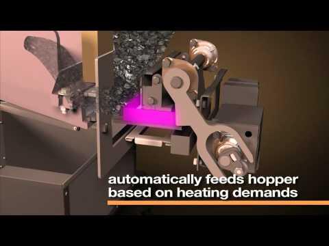 Harman 174 Technology Vertiflow Coal Stoker System Youtube