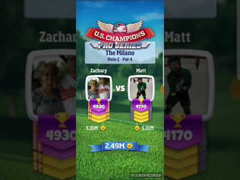Golf clash Tour 11 advance wind discussion and shot advice