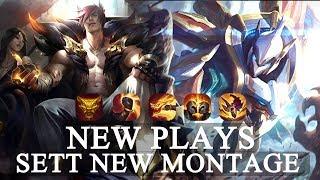 SETT Montage NEW Plays S10 League of Legends Best SETT Plays 2020