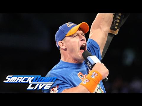 John Cena returns to SmackDown LIVE as a 16-time World Champion: SmackDown LIVE, Jan. 31, 2017