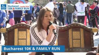 Monica Rosu, ambasador Bucharest 10K&FAMILY RUN