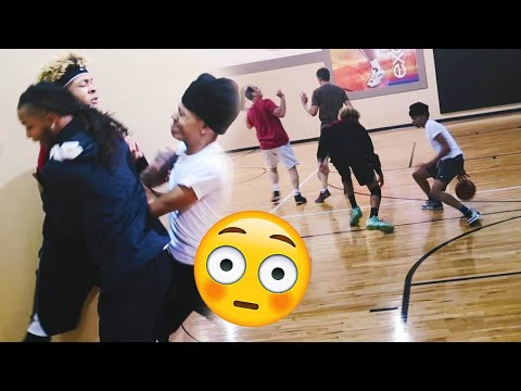 1v1 VS TRASH TALKER! HE TRIED TO PUNCH ME BECAUSE I BROKE HIS ANKLES...