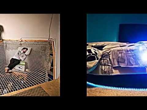 Außergewöhnliche betten mit licht  Top 14 ungewöhnliche und kreative Betten - YouTube