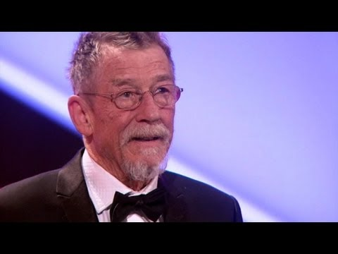 John Hurt's Acceptance Speech - The British Academy Film Awa
