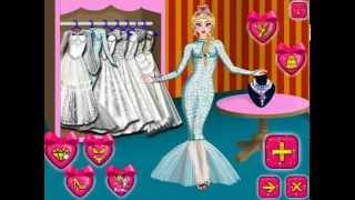 Elsa's Wedding Day (Холодное сердце: День свадьбы Эльзы) - прохождение игры