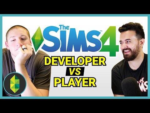 Building a Sims House with a Developer - Now he knows our struggles! thumbnail