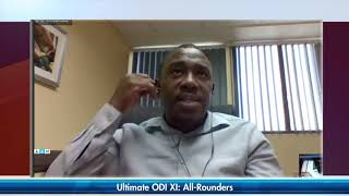 SportsMax Zone - Cricket Ultimate XI - ODI All-Rounders | June 3, 2020.