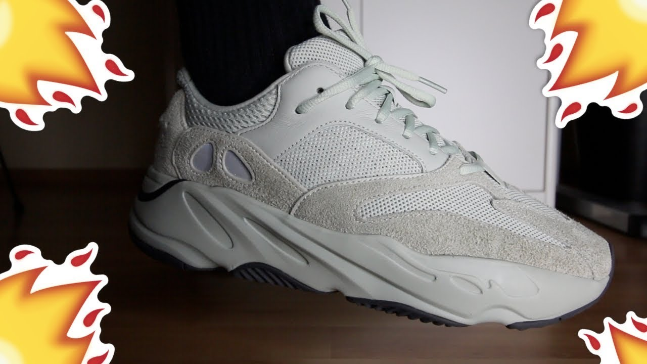 ADIDAS YEEZY BOOST 700 SALT REVIEW/ON