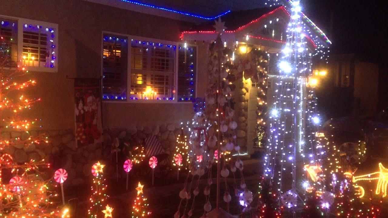 Animated Christmas Lights And Musical Christmas Tree
